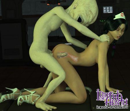 Секс с пришельцем фото