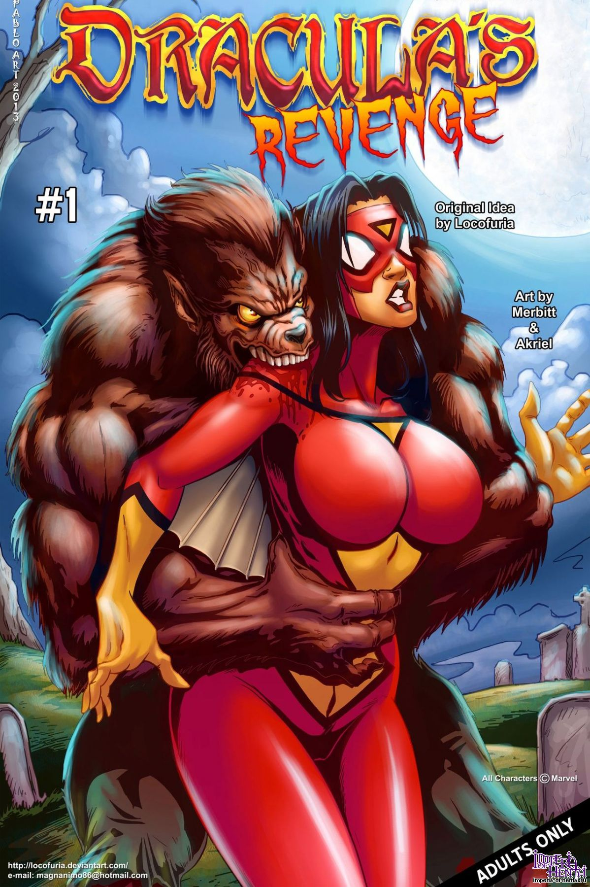 Wolfman xxx fucked comics