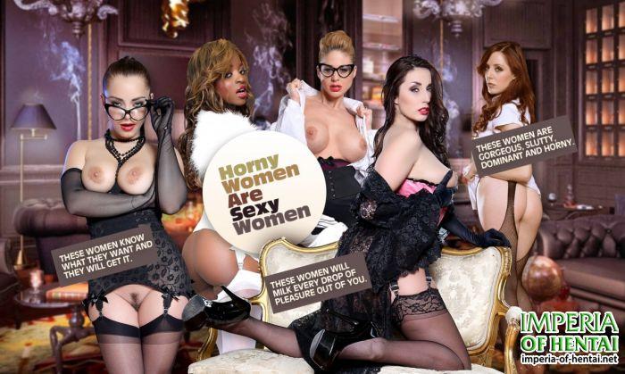 Horny Women Are Sexy Women