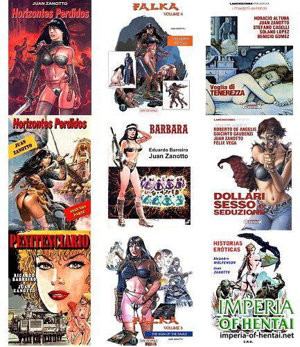 Juan Zanotto Comics Collection