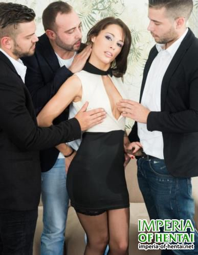 Nikita Bellucci - Gets An Anal Creampie In A POV Gangbang (2015/Private.com/FullHD)