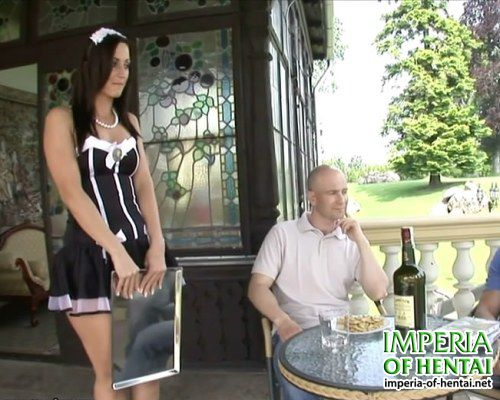 Guys fucked in the ass maid Sabrina