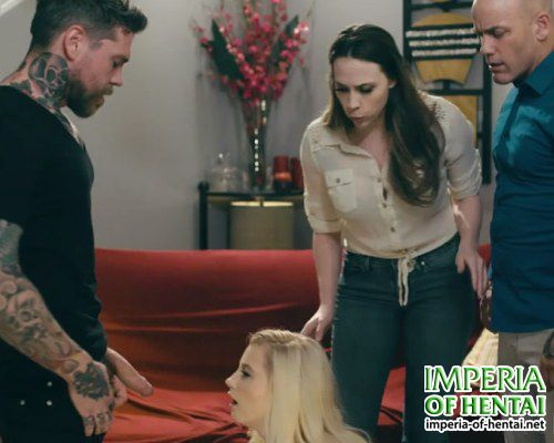 Jenny fucked in front of her parents