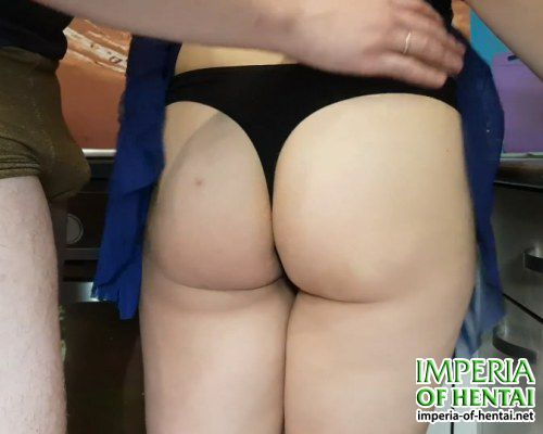 Inna and husband fucked in the kitchen