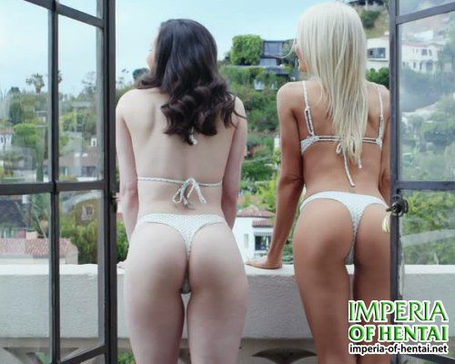 Elena and Olga are waiting for anal sex